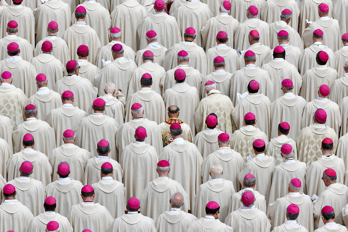 pope bishops