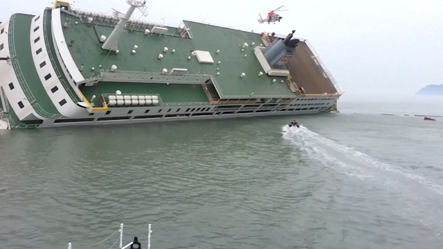 New Footage Shows South Korean Ferry Captain Abandon Ship