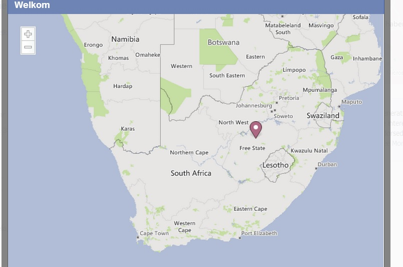 Welkom in South Africa is the place William Henwood comes from, according to the Ukip candidate's Facebook page