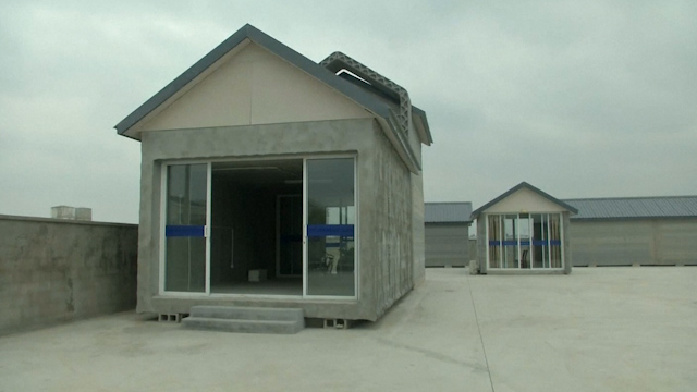 Chinese Firm Prints 3D Houses