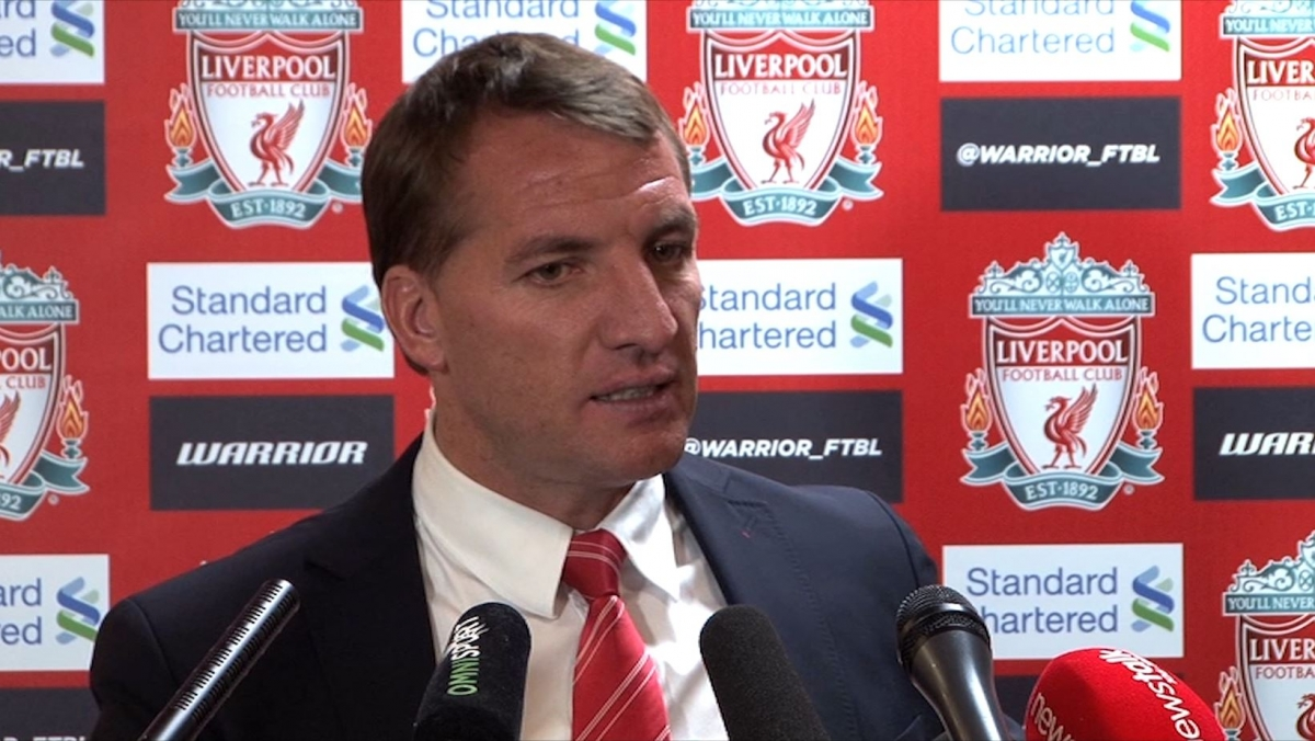 Brendan Rodgers: Liverpool Were Only Team Trying to Win the Game