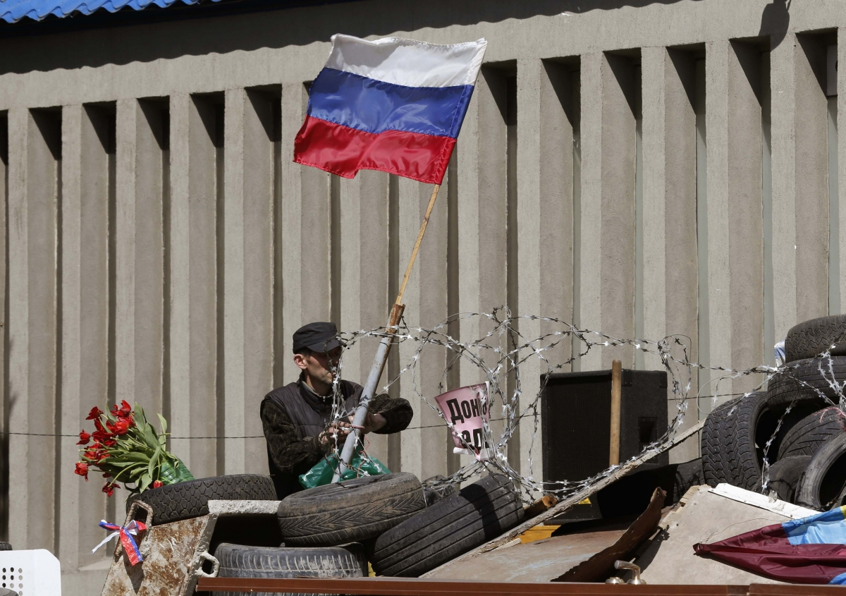 Separatists Proclaim Luhansk Independence in Ukraine