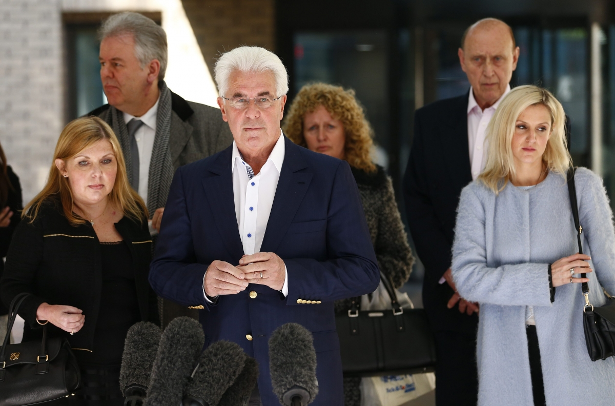 Max Clifford Found Guilty of Indecent Assault