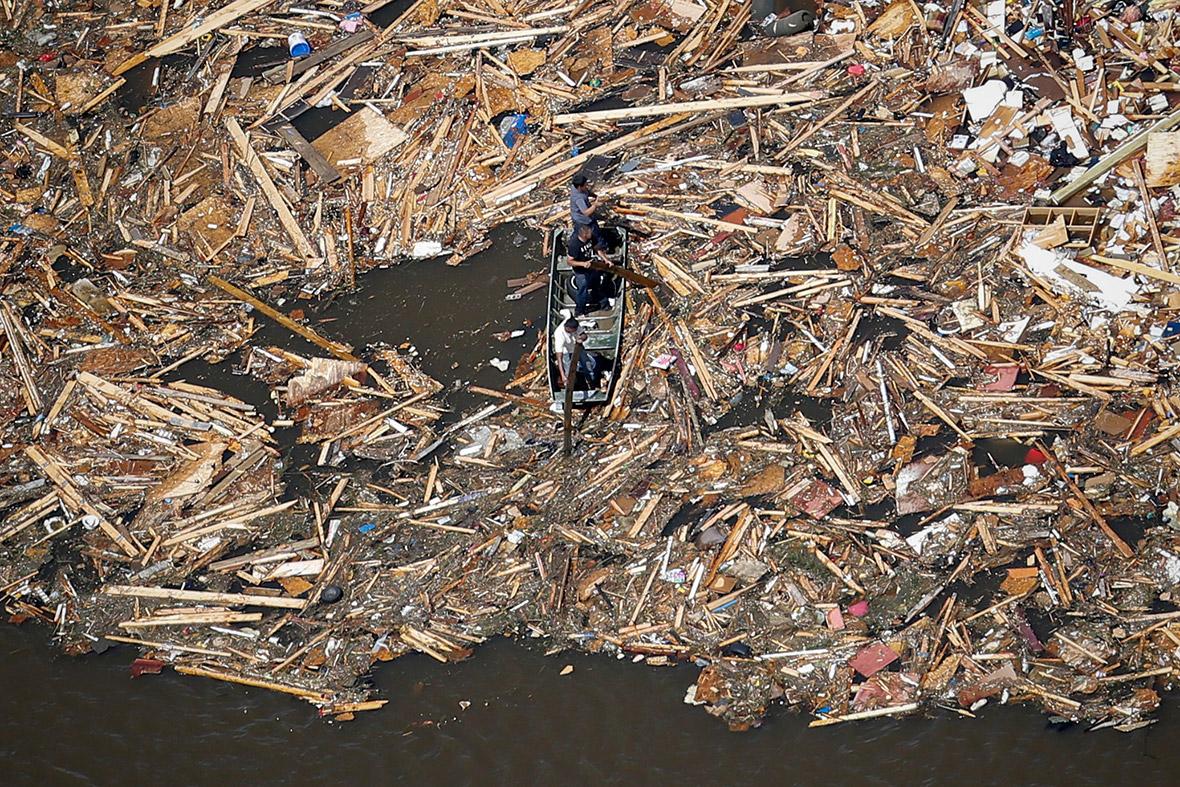 debris water