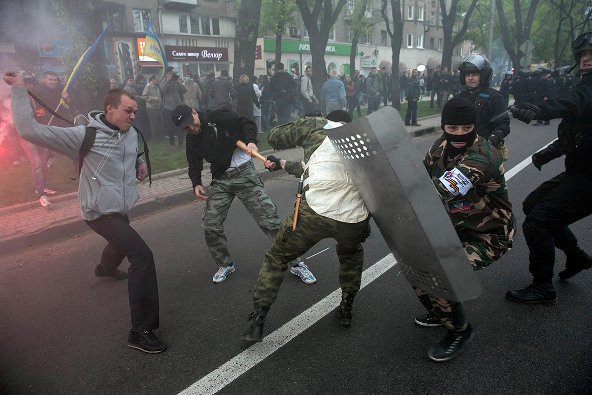 ukraine fight