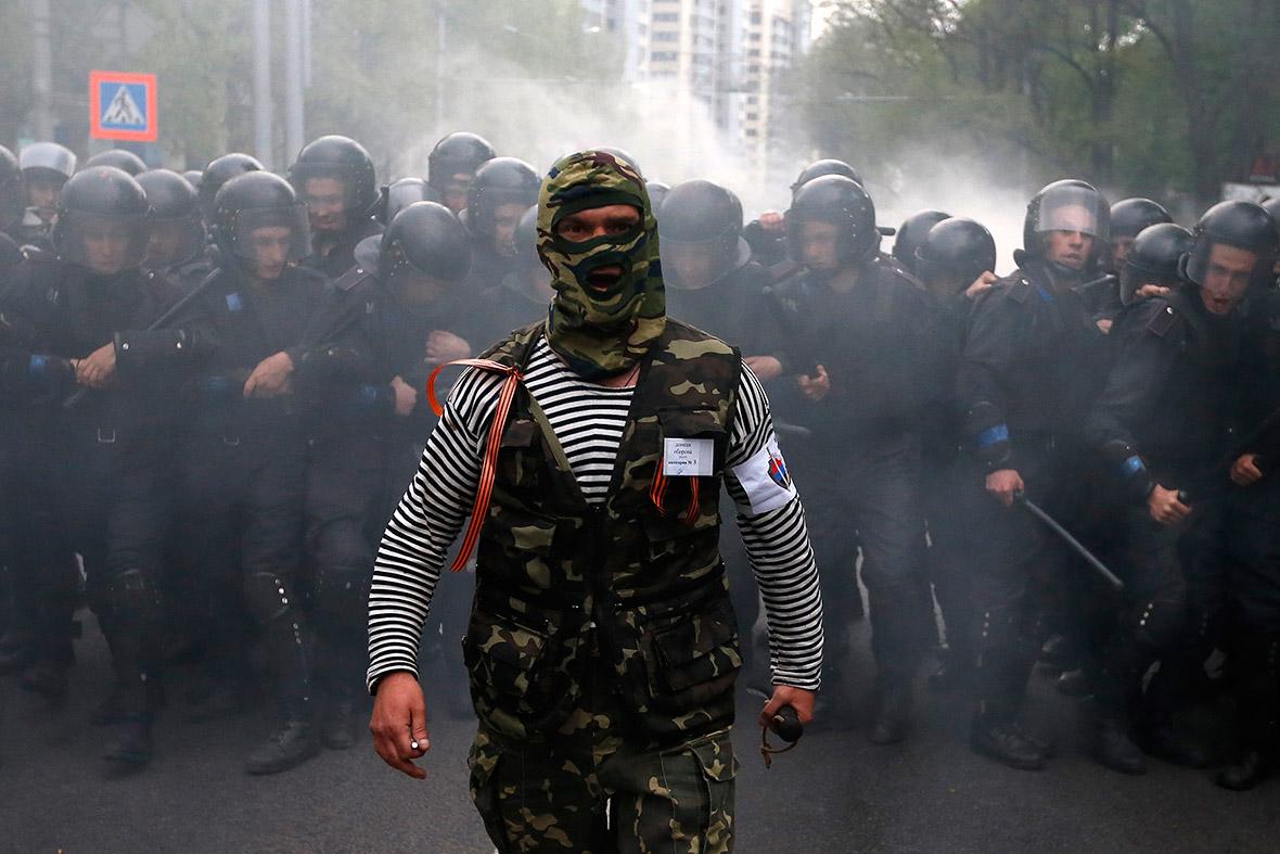 ukraine masked
