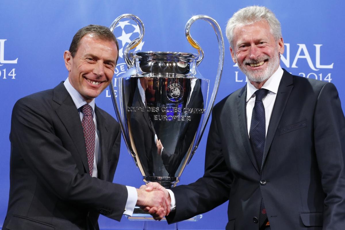 Representatives of Bayern Munich and Real Madrid