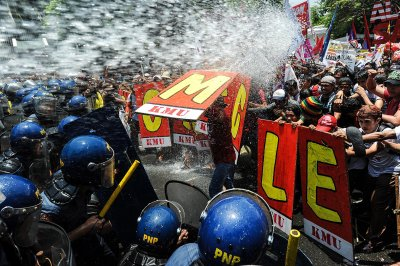 water cannon
