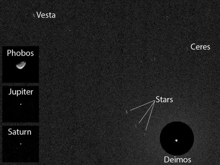 Nasa Curiosity Rover Asteroid Image