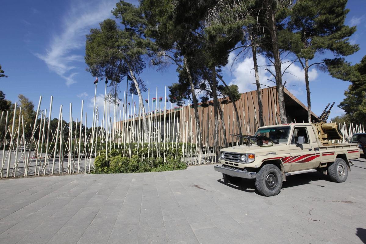 Tripoli Gunmen Storm Libyan Parliament