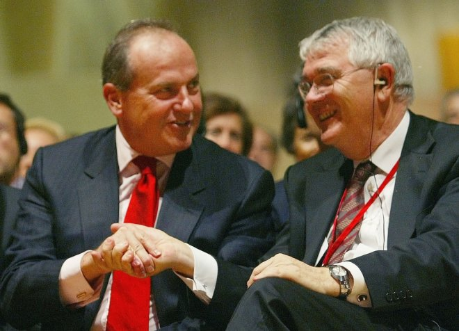Santander UK Chairman Lord Burns Stepping Down