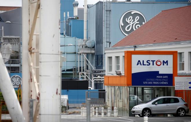Alstom GE Logos