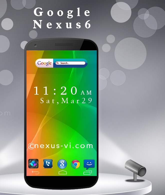 Google Nexus 6 Expected to be Launched on 15 October Along With Nexus 9