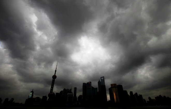 Dark Clouds Shanghai China