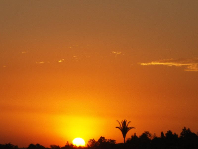 Sunset in Johannesburg