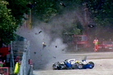 Senna crash