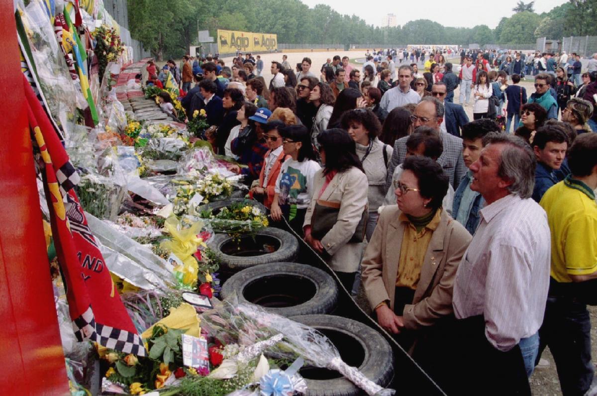 Senna funeral
