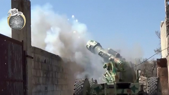 Fighting Between Rebels and Syrian Forces Intensifies