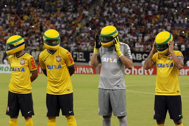 Corinthians Senna Tribute