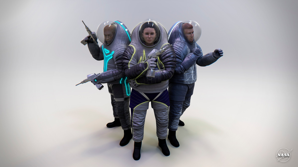 Nasa spacesuit designs