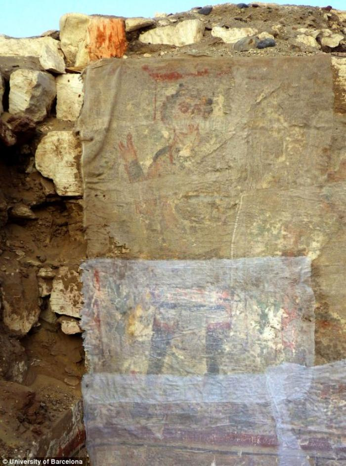 Archeologists discover an early image of Christ in Egypt