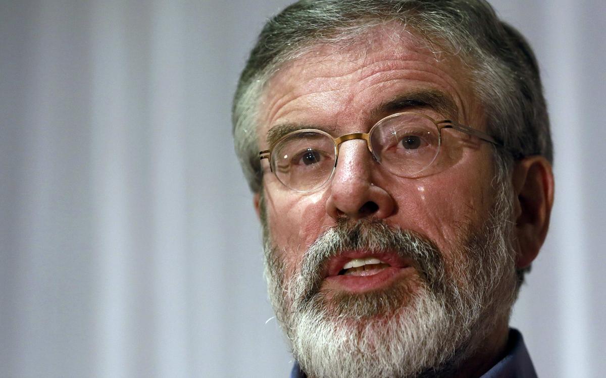 Sinn Féin's Gerry Adams Arrested over 1972 Murder