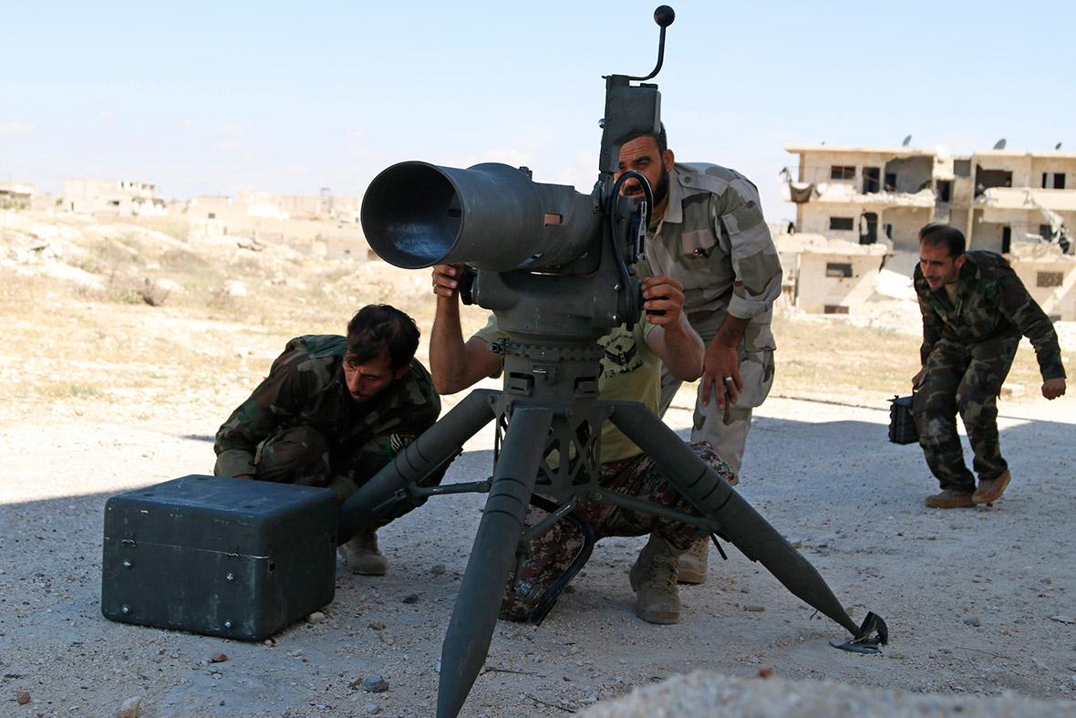 syria weapon