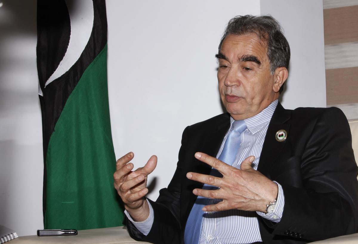 Libya's Oil Minister Omar Shakmak