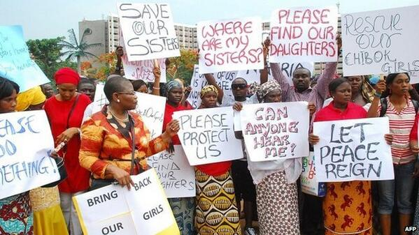 Nigerian girls abducted