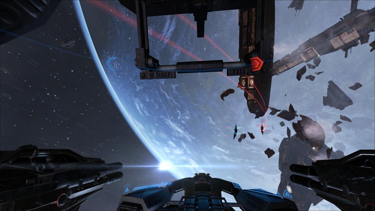Eve Valkyrie Update Unreal 4 Engine