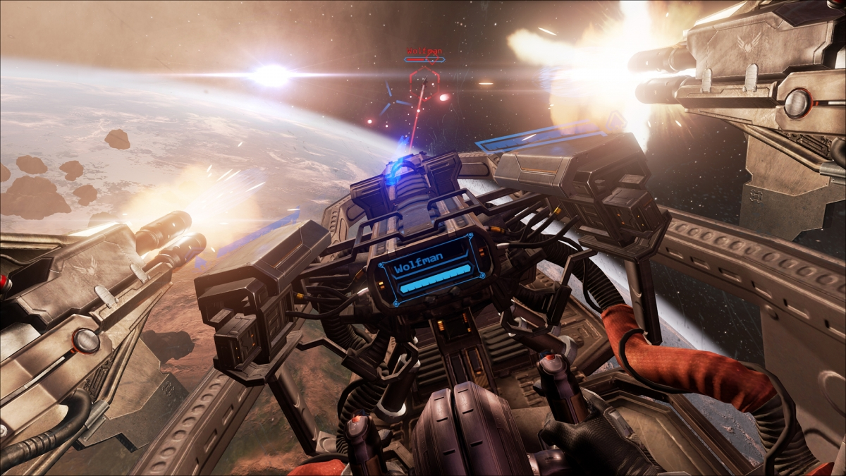 Eve Valkyrie in VR