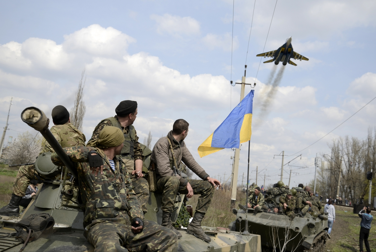 Ukraine Reintroduces Military Conscription over Russian Threat