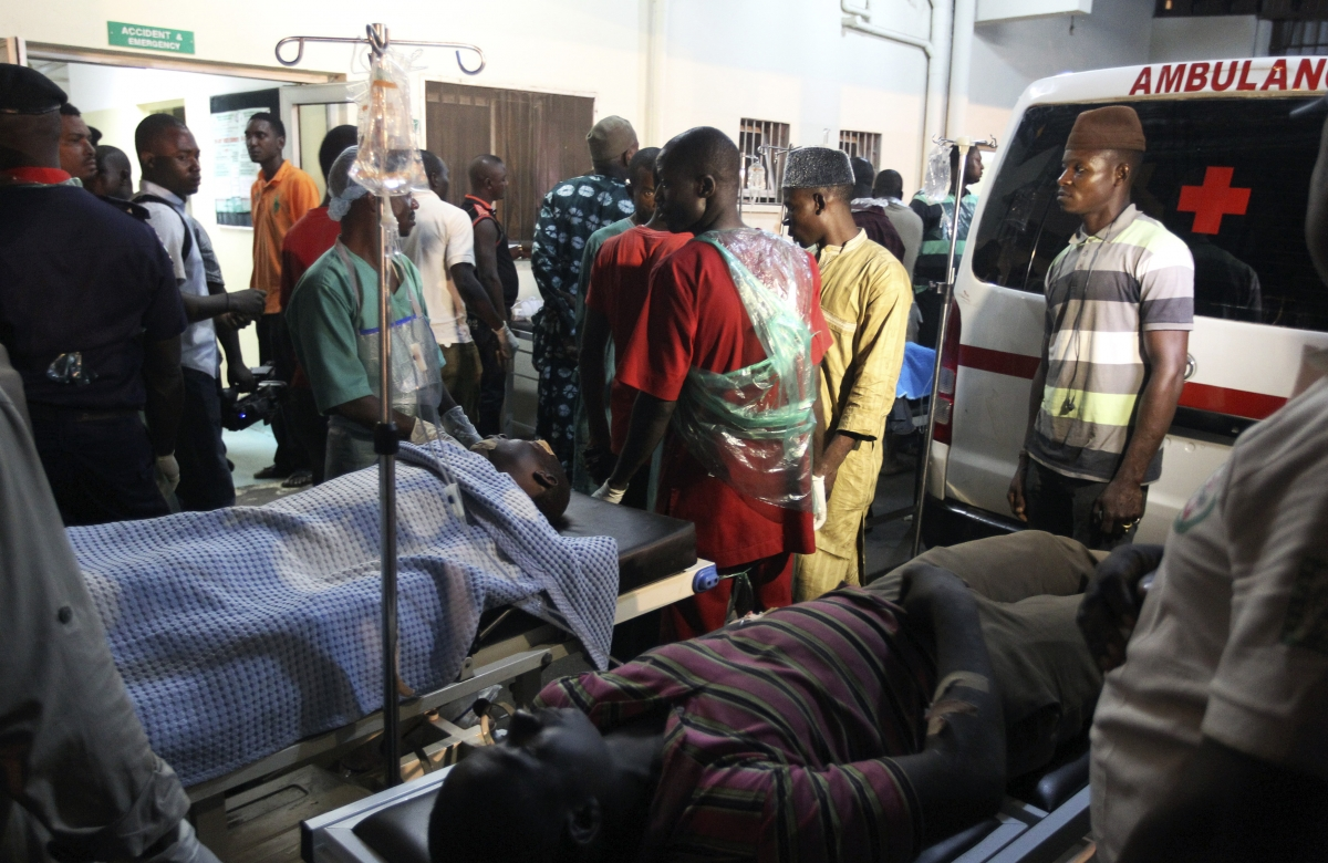 Car bomb attack in Nigerian capital Abuja