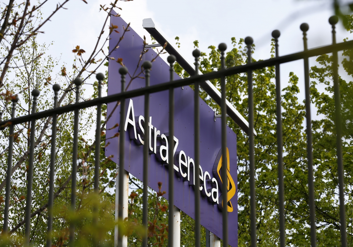 AstraZeneca site in Macclesfield