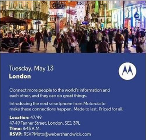 Motorola press event