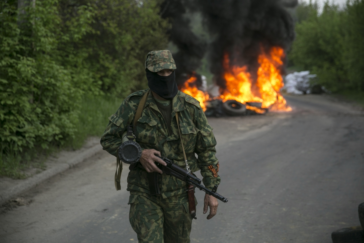 Russia Ukraine Peace Deal Slaviansk
