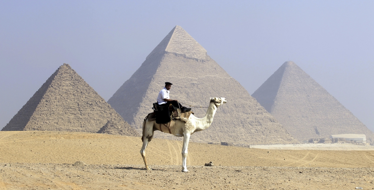 Mystery of how Egypt's pyramids were built 'solved by retired French postman'