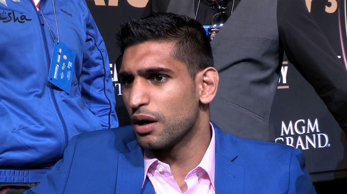 Amir Khan: Me against Mayweather is the Fight Everyone Wants to See