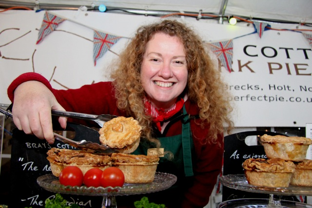 Sarah Pettegree, founder of Bray's Cottage Pork Pies
