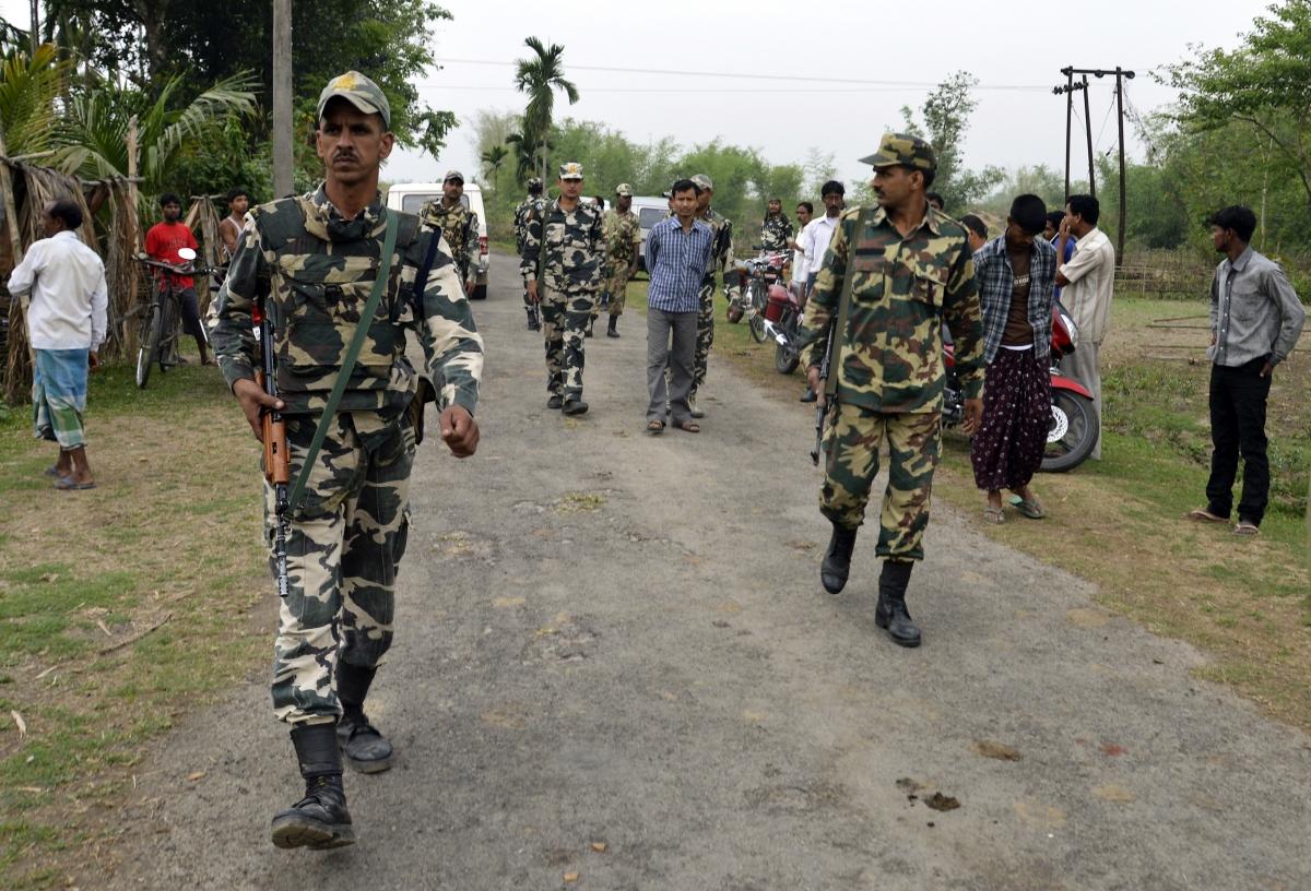 Bodo militant atttack on Muslims in Assam