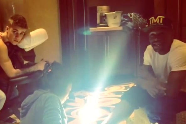 Canadian pop star Justin Bieber and boxer Floyd Mayweather are big fans of pedicures