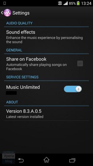 Xperia Z1 Gets Android 4.4.2 Bug-Fix Update (14.3.A.0.761), Walkman App Gets Crash-Fix (8.3.A.0.5)