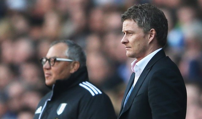 Ole Gunnar Solskjaer and Felix Magath