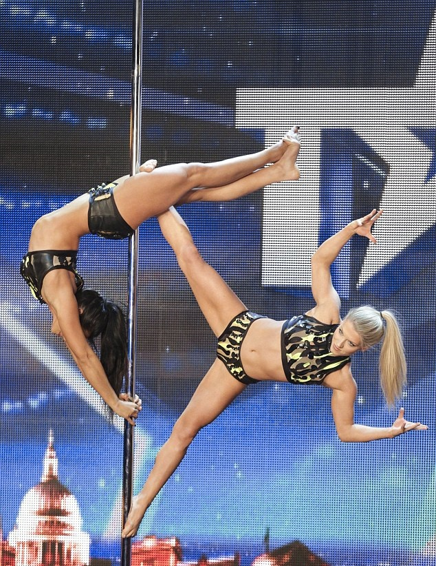 Britain's Got Talent Gets Sexy with Pole Dancers and Raunchy Burlesque Act