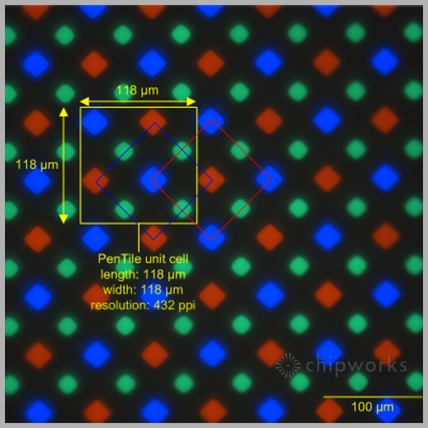 Galaxy S5 Display Pixel Structure More Efficient Than Galaxy S4