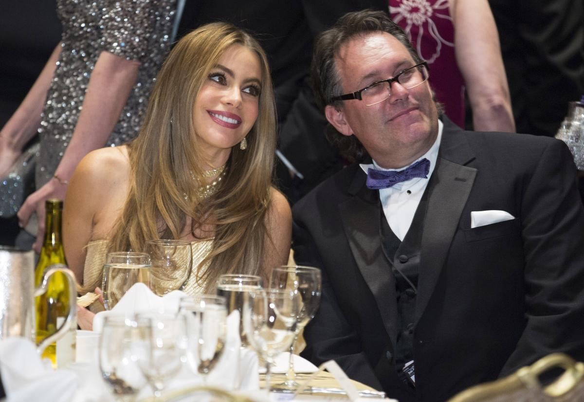 Actress Sofia Vegara at the annual White House fundraiser.