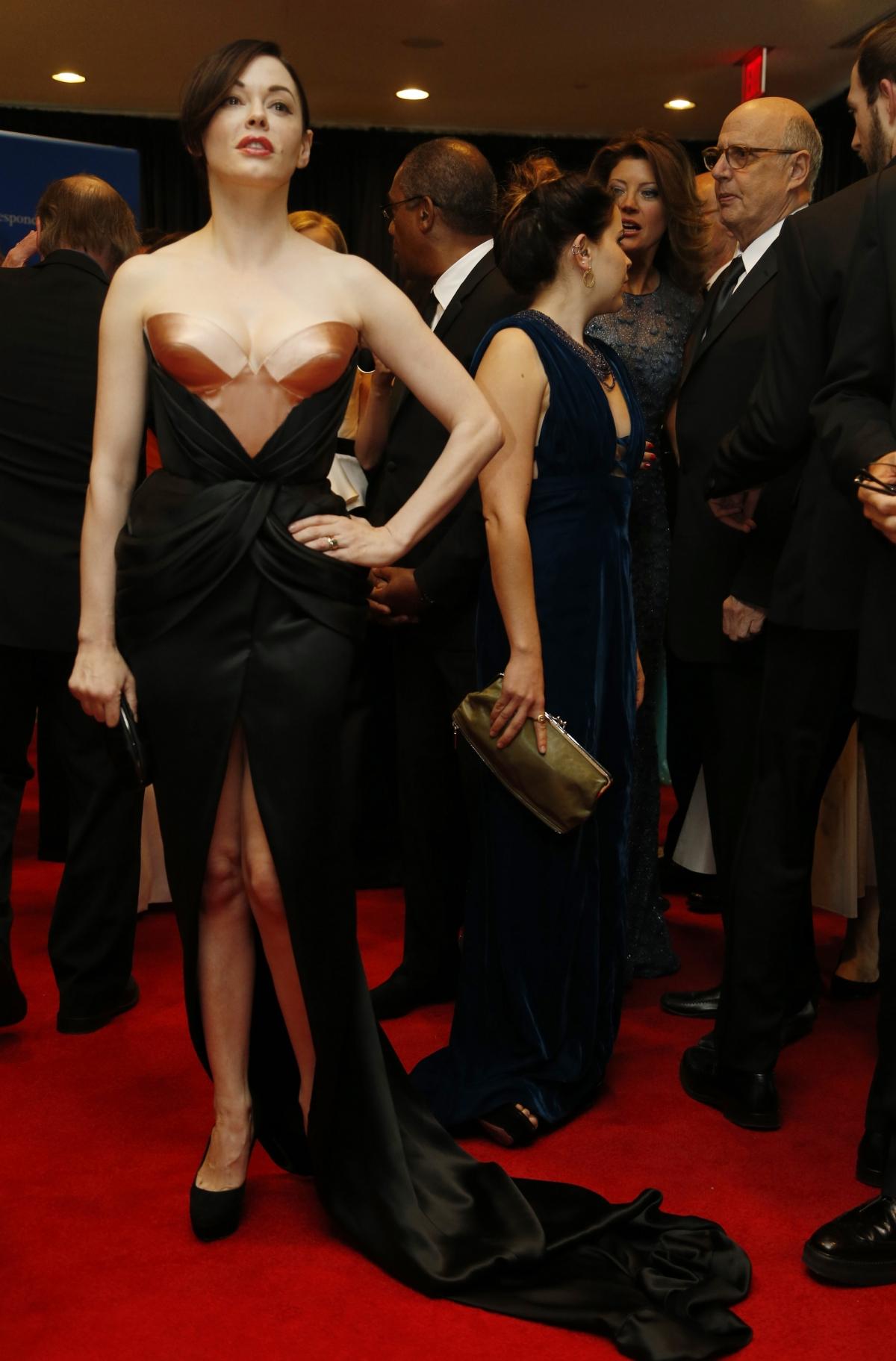 Actress Rose McGowan