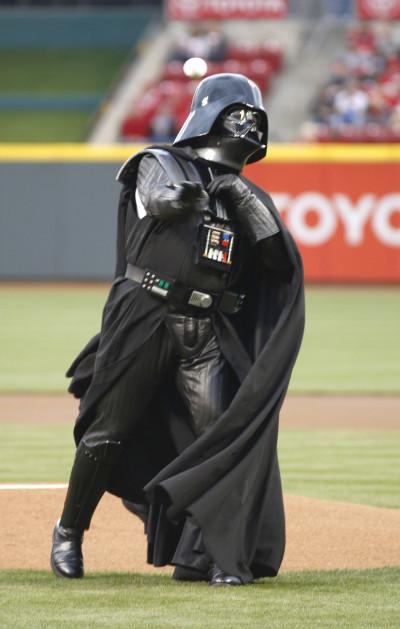 Darth Vader baseball