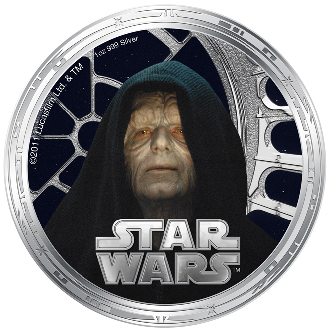 This Star Wars coin is legal tender on the Pacific Island of Niue