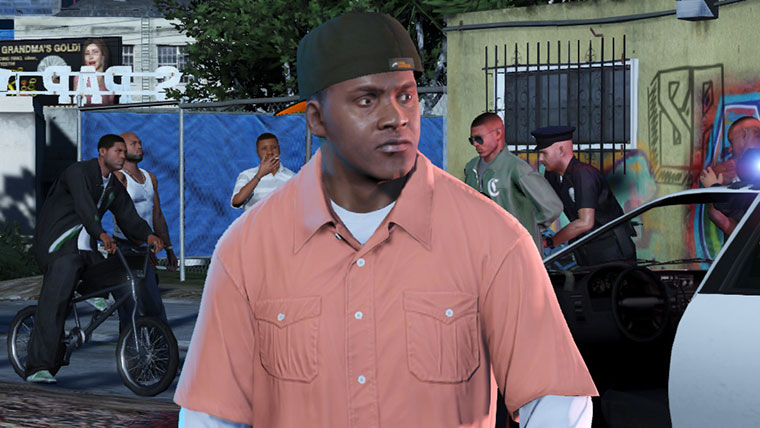 Franklin Clinton GTA 5
